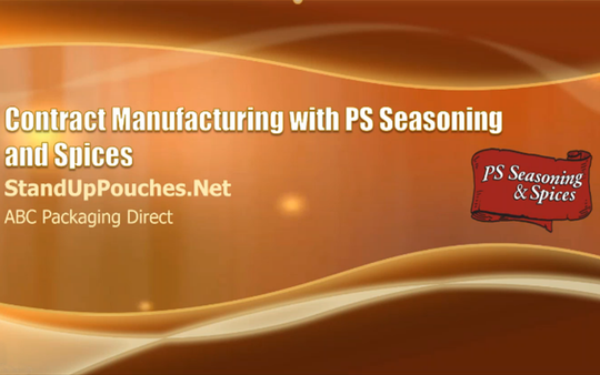 Contract manufacturing with PS Seasoning & Spices