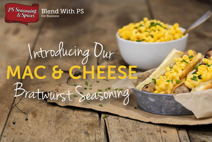 Introducing Our Mac & Cheese Bratwurst Seasoning!