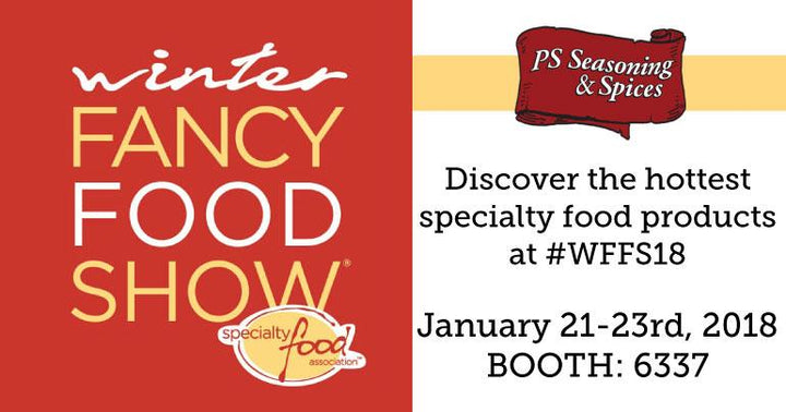 Visit us at the Winter Fancy Food Show!