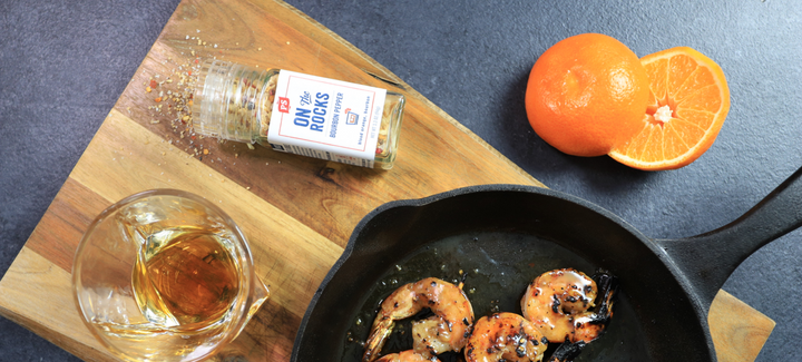 Orange Bourbon Shrimp