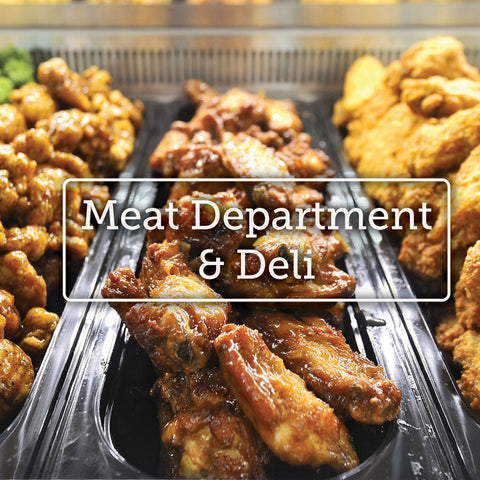 Meat Department and Deli