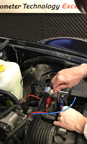 NOS Nitrous Oxide Injection installation