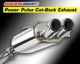 Mazda RX-7 FD Racing Beat Dual Tip Cat Back Exhaust System