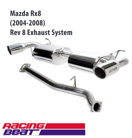 Mazda RX-8 (2004-08) Rev8 Exhaust