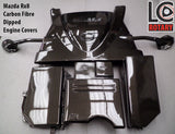 "Mazda RX-8 Engine Covers ""Carbon Fibre Dipped"""