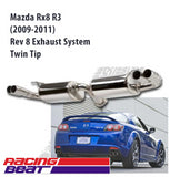 Mazda Rx-8 R3 (2009-2011) Rev8 Exhaust  – Twin Tip