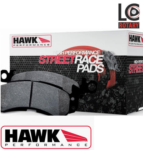 "Mazda RX-8 Hawk ""Street Racer"" Road / Track Brake pad set (2003-2012)"