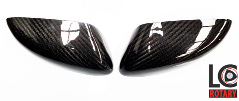 Mazda RX-8 Carbon Fibre Mirror Covers