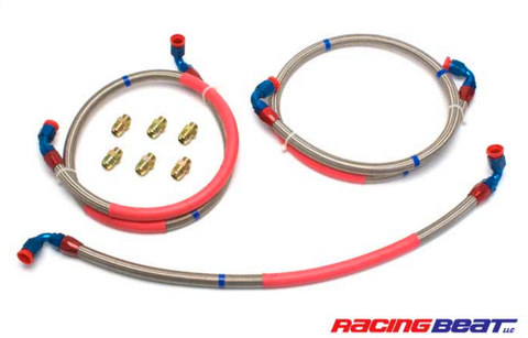 "MAZDA RX-8 ""Racing Beat"" Oil Cooler Hose Set"