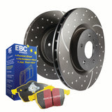 "EBC Turbo Grooved Brake KITS ""MAZDA RX8"""