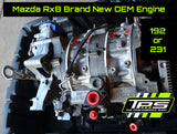 Mazda RX-8 Brand New OEM Engine 192 or 231