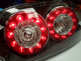 Mazda RX8 2004/08 Clear Lens LED Rear Light Clusters (Pair)