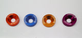 Anodised Fender Washers