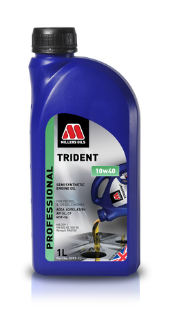 Millers Trident 10w40 Engine Oil