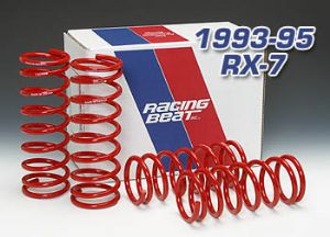 Mazda RX-7 FD Racing Beat Lowering Suspension Spring Set 1993-2002