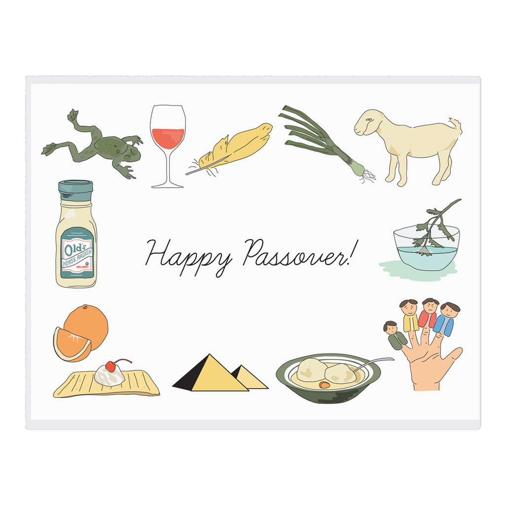 Happy Passover Place Mats