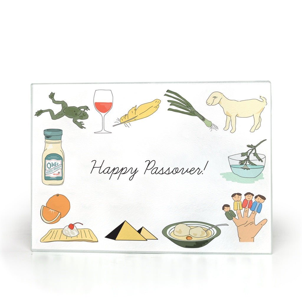 Passover Glass Cutting Board