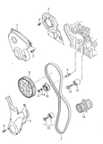 (7+10=12+15) 30586 INA Cambelt Kit '4pc' 2.0TFSI 230-272BHP