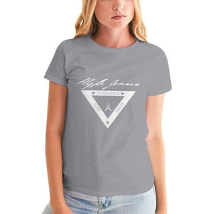 Hype Jeans  white shield logo Women's Graphic Tee - Hype Jeans Company - Hype Jeans