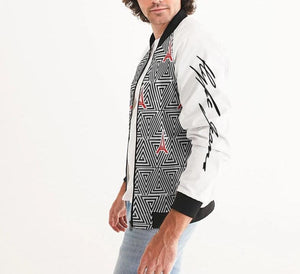 Hype Jeans The Standard HJ finese (white) Men's Bomber Jacket - Hype Jeans Company - Hype Jeans