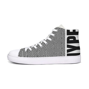 Hype Jeans Mosaic sneakers 2 Hightop Canvas Shoe - Hype Jeans Company - Hype Jeans
