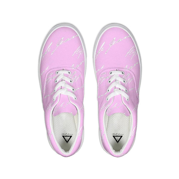 Hype Jeans sneaker 1s (Light Pink/ White)