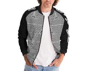 Hype Jeans The Standard HJ Finese (Black) Men's Bomber Jacket - Hype Jeans Company - Hype Jeans