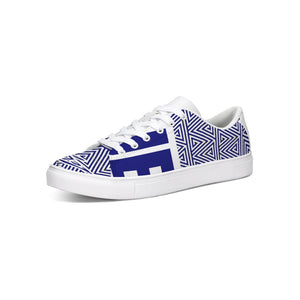 Hype Jeans Mosaic Sneaker 2  Low Cut Navy Blue / white - Hype Jeans Company - Hype Jeans