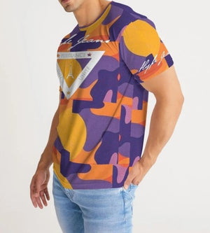 Hype Jeans Fade Camo purple/ yellow Men's Tee - Hype Jeans Company - Hype Jeans