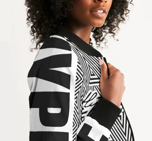 Hype Jeans Women's Mosaic Bomber Jacket - Hype Jeans