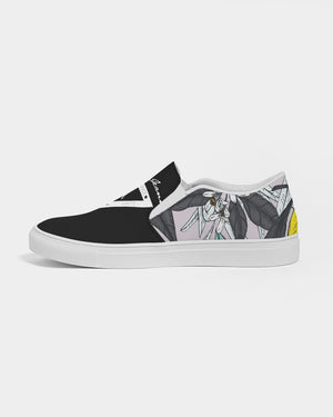 Hype Jeans Company Summer forest  Men's Slip-On Canvas Shoe