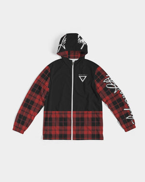 Hype Jeans Company Plaid Men's Windbreaker