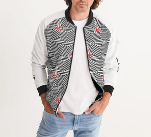 Hype Jeans The Standard HJ finese (white) Men's Bomber Jacket - Hype Jeans