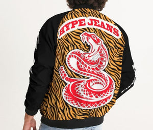 Hype Jeans Company Tiger Print Men's Bomber Jacket