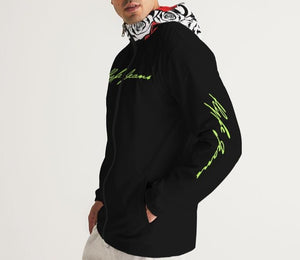 Hype Jeans Company Men's Black Windbreaker 2