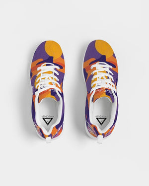 Hype Jeans Company  Fade Camo Purple/Yellow  Men's Athletic Shoe