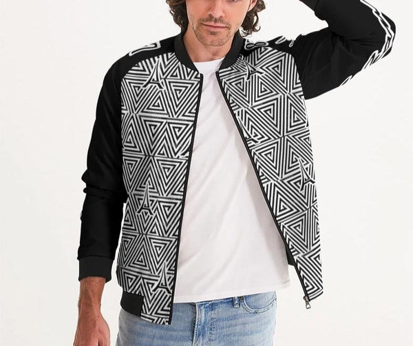 Hype Jeans The Standard HJ Finese (Black) Men's Bomber Jacket