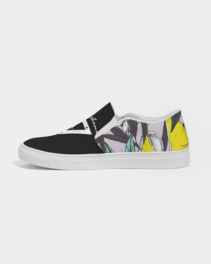 Hype Jeans Company Summer forest  Women's Slip-On Canvas Shoe