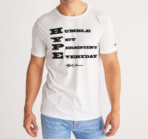 H.Y.P.E. Jeans  ACRONYM  Men's Tee (White) - Hype Jeans Company - Hype Jeans