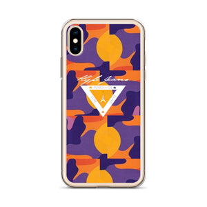 Hype Jeans iPhone Case Purple / yellow - Hype Jeans Company - Hype Jeans