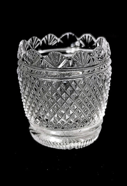 Diamond Cut Vase