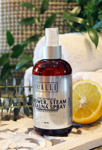 calli skin sauna spray