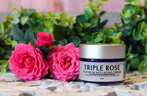 triple rose cream