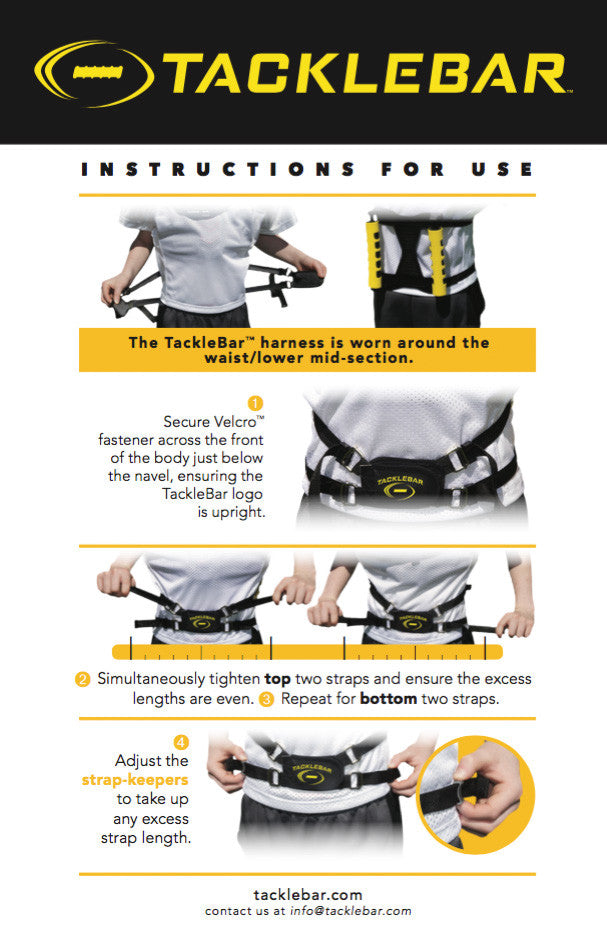 TackleBar Instructions