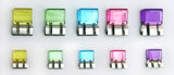Multi-Colored Slide-Clips - Large