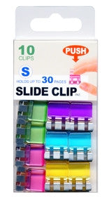 Multi-Colored Slide-Clips - Small