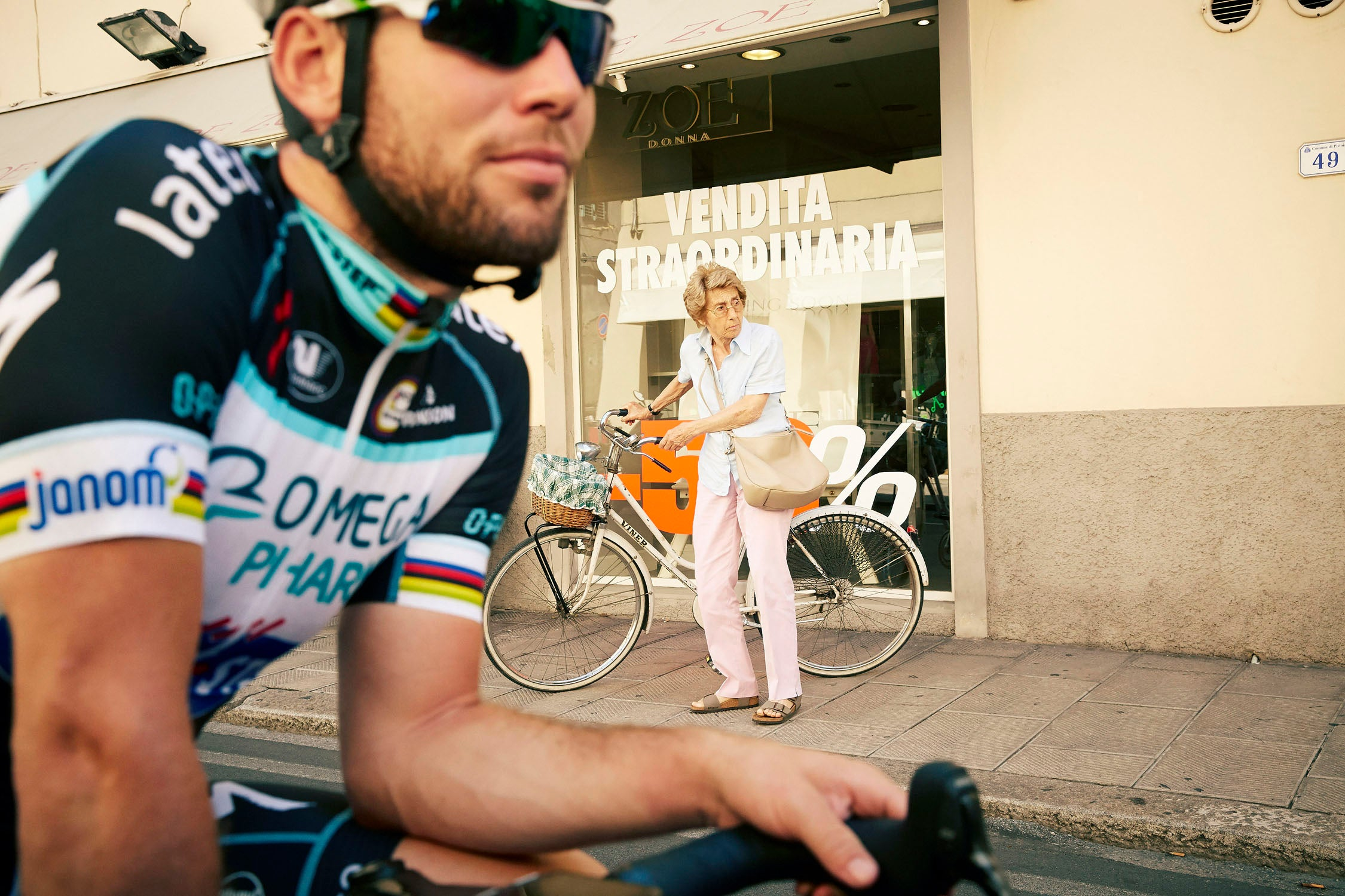 At home with Mark Cavendish, Tuscany, Italy