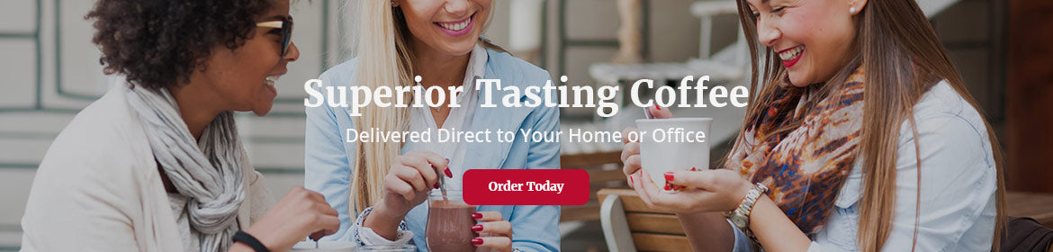 Superior Tasting Red Diamond Coffee