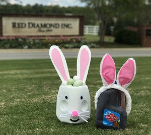 Red Diamond Easter Basket
