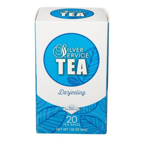 Naturally Healthy Silver Service Darjeeling Hot Tea Bags